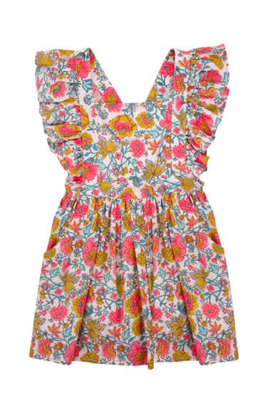 Louise Misha Dress Varadero Multi Flowers