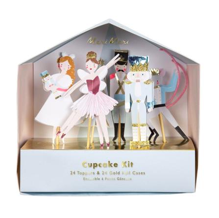 Meri Meri AW19 Christmas Cupcake Kit Nutcracker