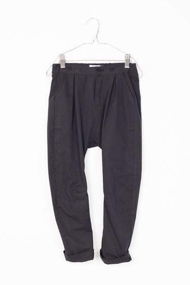 Motoreta AW17 Paris Baggy Pants Black