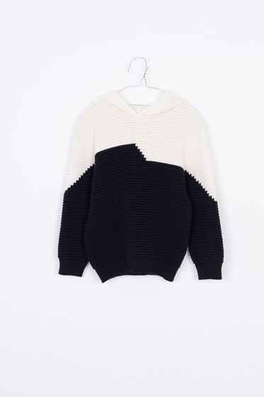 Motoreta AW18 Hoodie Sweater Black and Off White