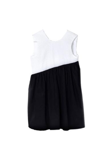 Motoreta Dress Enea Black and White