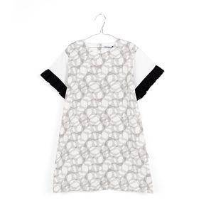 Motoreta SS18 Mar Dress Black and White Print