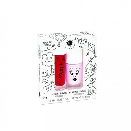 Nailmatic COTTAGE Rollette Nail Polish Duo Set