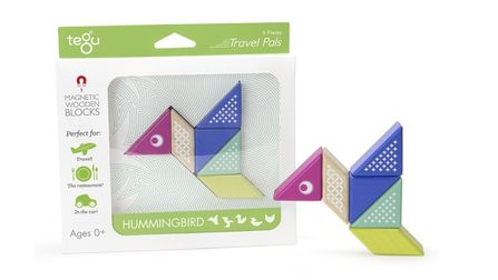 TEGU  Magnetic blocks Humming Bird