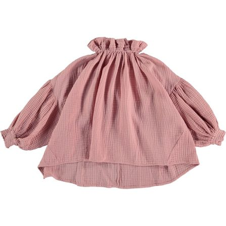 The New Society Olivia Blouse Bambula Dusty Lilac