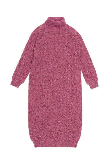 The New Society Rosette Dress Pink