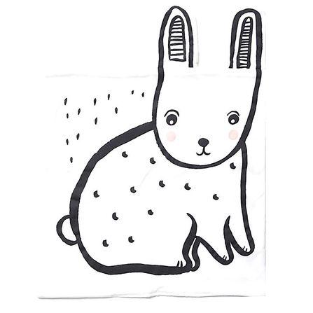 Wee Gallery Snuggle Blanket - Bunny