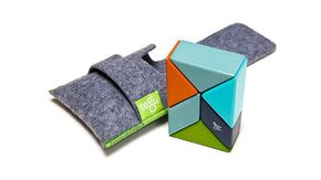 TEGU Prism Pocket Pouch 6 blocks Nelson