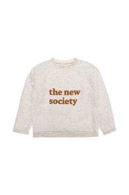The New Society Winter Sweater Ecru