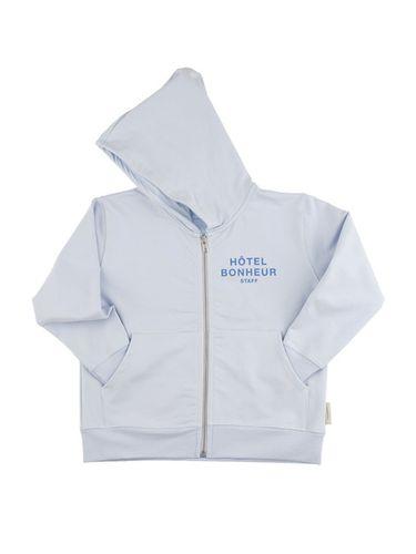 tinycottons SS18 Hotel Bonheur staff  hoodie