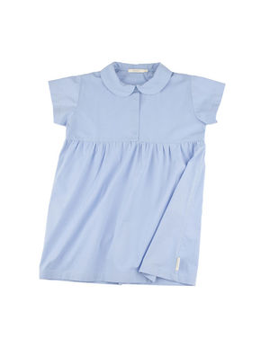 tinycottons SS18 Solid Dress Blue