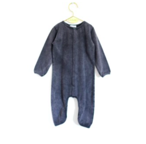 Wolf&Rita AW18 Baby Overall Laureano Fade Out Grey Love and Love