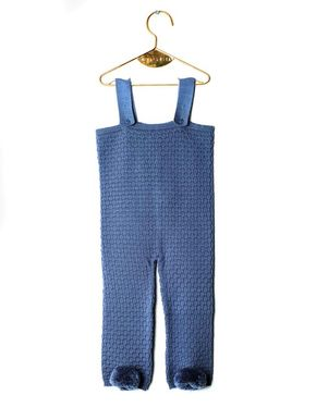 Wolf&Rita AW18 Baby Jumpsuit Emanuel Blue